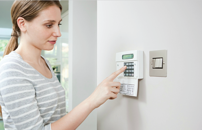 Front-guard-alarm-system